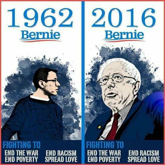 Bernie-Love-Not-War