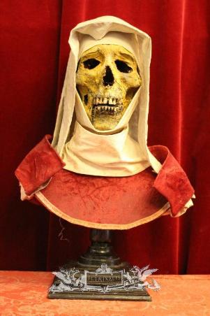 Nun's Head Reliquary